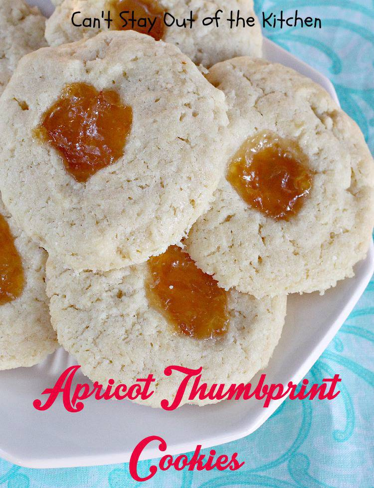 apricot thumbprint cookies southern living
