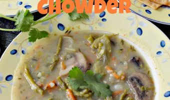 Asparagus Mushroom Chowder