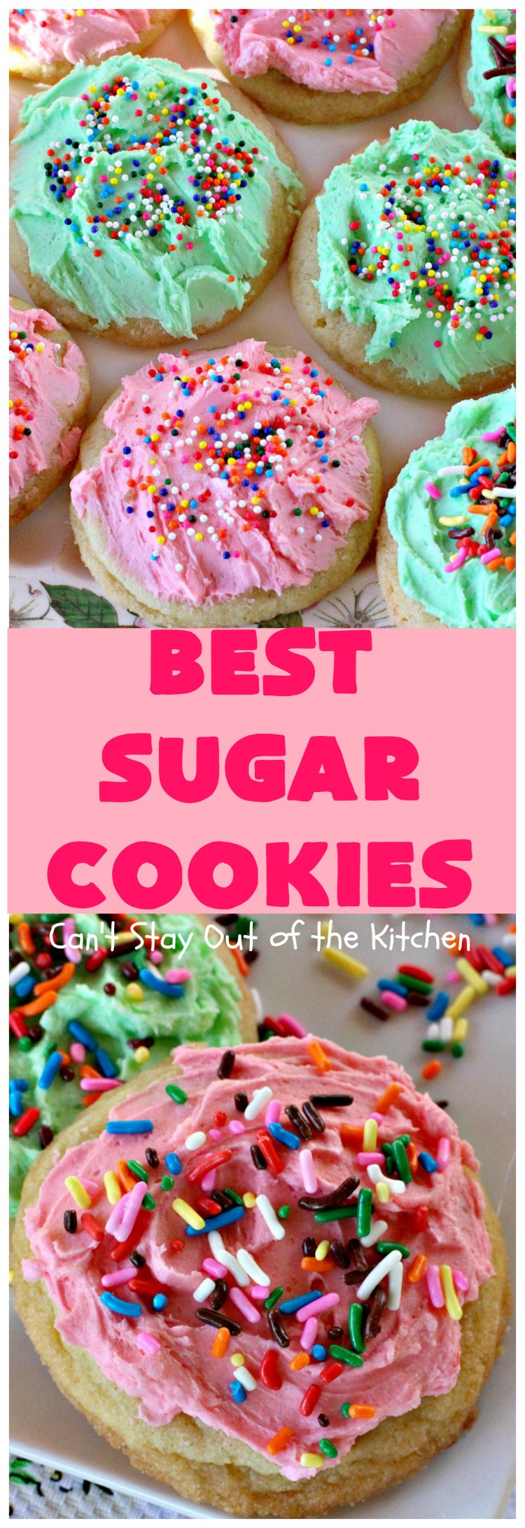 best sugar cookies cant stay out of the kitchen these