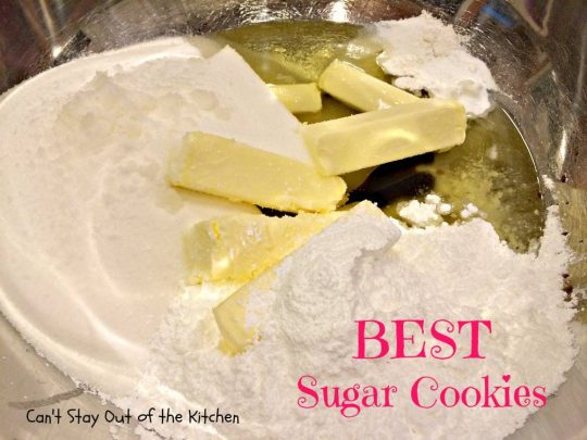 BEST Sugar Cookies - IMG_1577