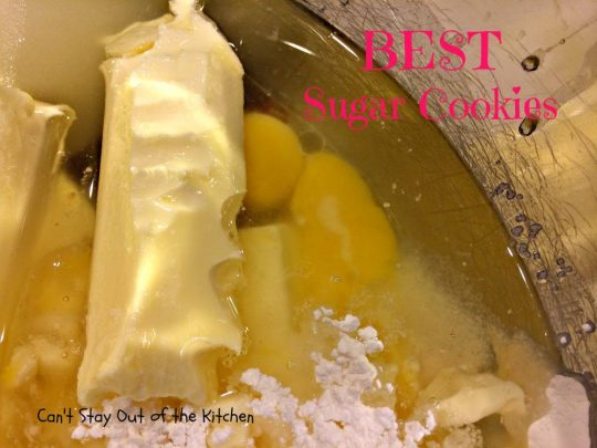BEST Sugar Cookies - IMG_1578