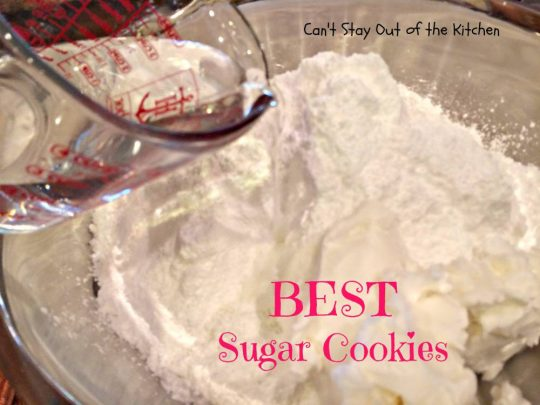 BEST Sugar Cookies - IMG_1584