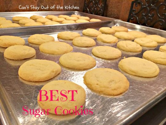 BEST Sugar Cookies - IMG_1589