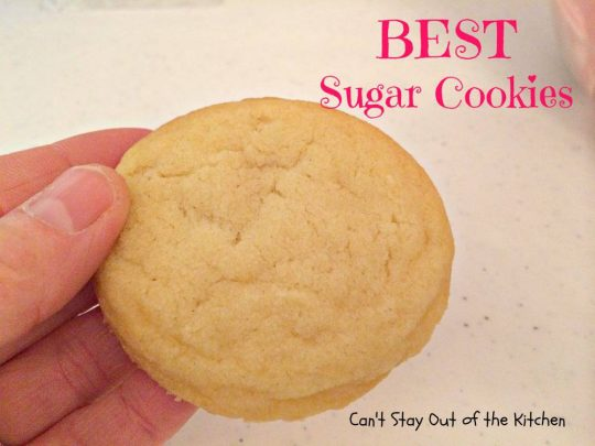 BEST Sugar Cookies - IMG_1591