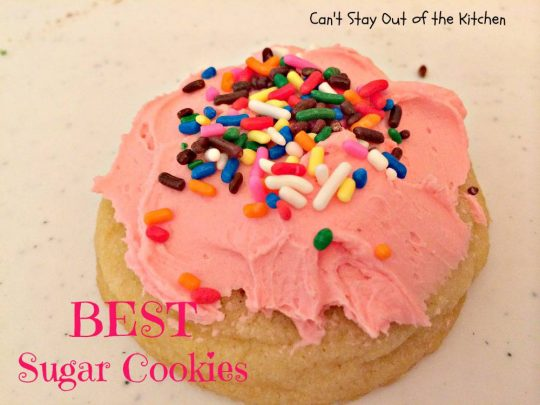 BEST Sugar Cookies - IMG_1593