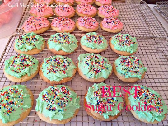 BEST Sugar Cookies - IMG_1596
