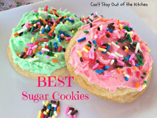 BEST Sugar Cookies - IMG_1608