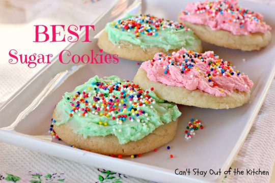 BEST Sugar Cookies - IMG_8333