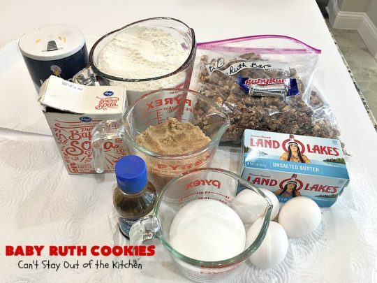 Baby Ruth Cookies - Can't Stay Out of the Kitchen