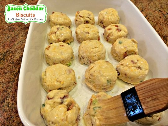 Bacon Cheddar Biscuits | Can't Stay Out of the Kitchen | These are the most amazing #biscuits. They're filled with #bacon and #cheddarcheese for spectacular taste. Great for #breakfast or dinner.