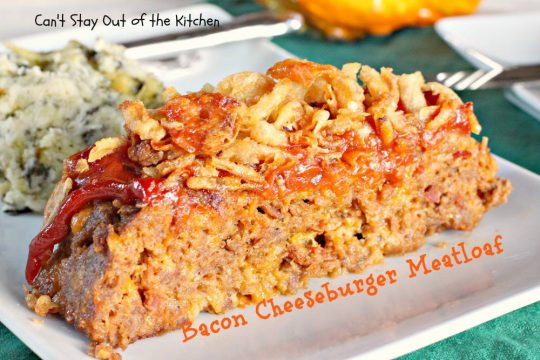 Bacon Cheeseburger Meatloaf - IMG_3839