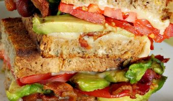 Bacon, Swiss, Tomato and Avocado Sandwiches