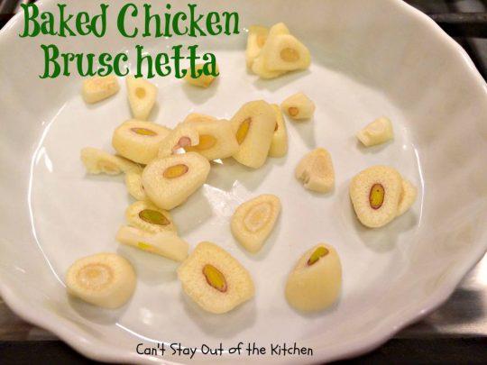 Baked Chicken Bruschetta - IMG_0330