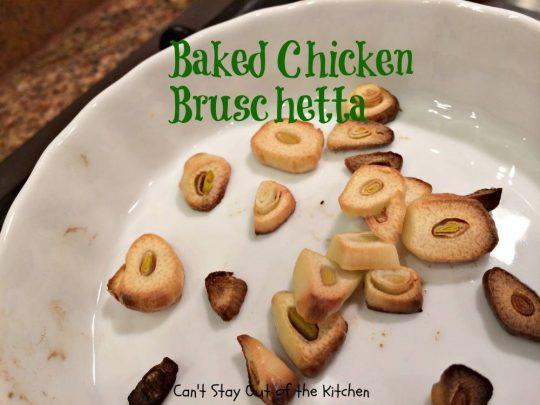 Baked Chicken Bruschetta - IMG_0336