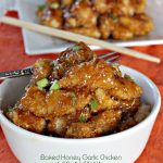 Baked Honey Garlic Chicken