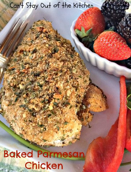 Baked Parmesan Chicken - IMG_3447