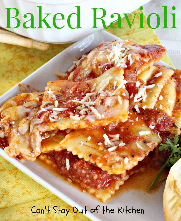 and meat sauce baked ravioli w bechamel and meat sauce baked ravioli ...