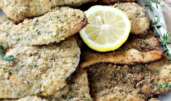 Baked Turkey Cutlet Parmesan