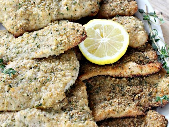 Baked Turkey Cutlet Parmesan | Can't Stay Out of the Kitchen