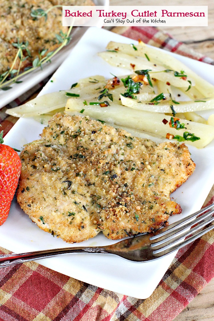 how to cook turkey breast cutlets in oven