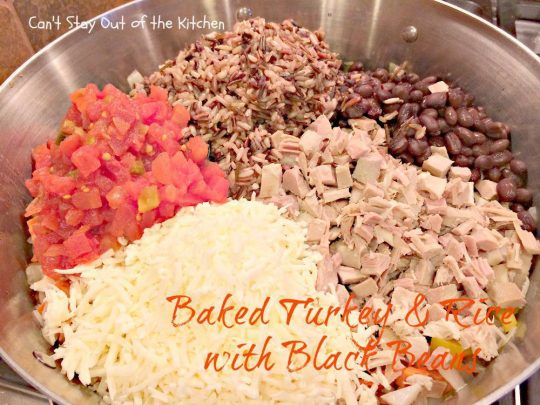 Baked Turkey and Rice with Black Beans - IMG_2241