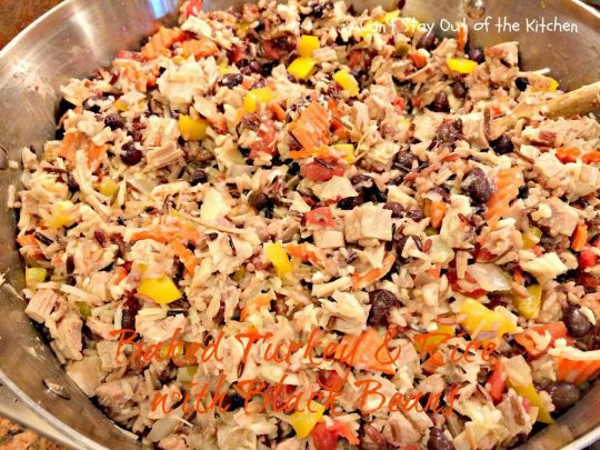 Baked Turkey and Rice with Black Beans - IMG_2242