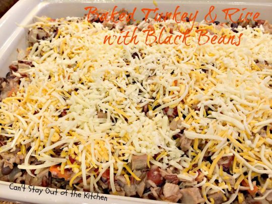 Baked Turkey and Rice with Black Beans - IMG_2246