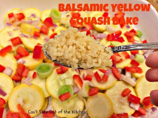 Balsamic Yellow Squash Bake - IMG_1336