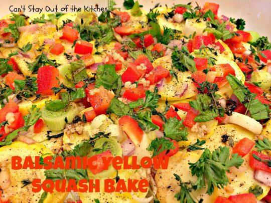 Balsamic Yellow Squash Bake - IMG_1338