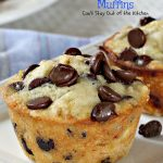 Banana Chocolate Chip Muffins   Can't Stay Out of the Kitchen