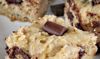 Banana Chocolate Chunk Snack Bars