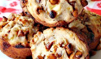 Banana Cinnamon Chip Muffins
