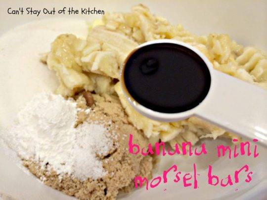 Banana Mini Morsel Bars - IMG_1229.jpg