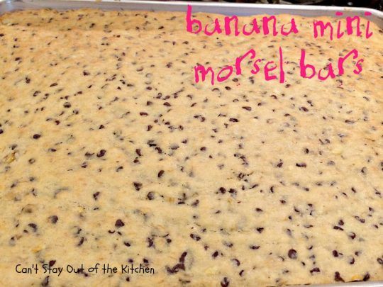 Banana Mini Morsel Bars - IMG_1235.jpg