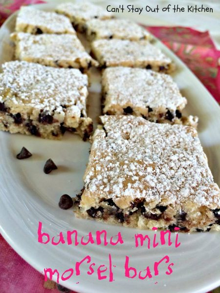 Banana Mini Morsel Bars - IMG_1361.jpg