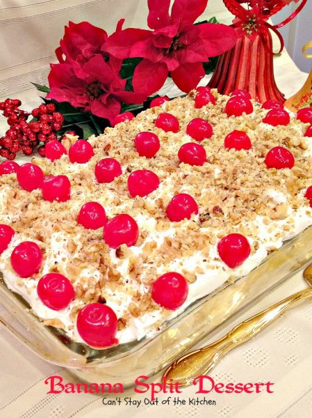 Banana Split Dessert - Recipe Pix 19 700