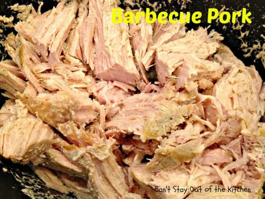 Barbecue Pork - IMG_9824