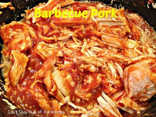 Barbecue Pork - IMG_9836