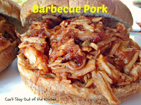 Barbecue Pork - IMG_9870