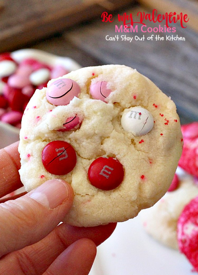 be my valentine mm cookies cant stay out of the kitchen these - Valentine Cookie
