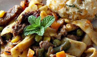 Beef Noodle Vegetable Casserole