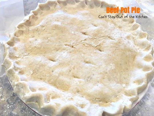 Beef Pot Pie | Can't Stay Out of the Kitchen | the most succulent and amazing #beefpotpie ever! You won't want to make any other recipe after trying this! #beef #potpie