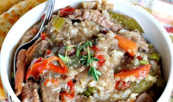 Beef Tips with Quinoa