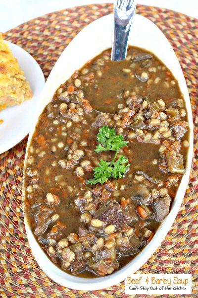 Beef and Barley Soup - IMG_4148