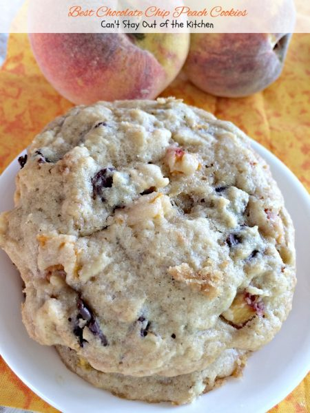 Best Chocolate Chip Peach Cookies - IMG_8646
