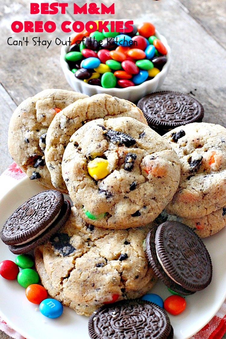 Best M&M Oreo Cookies