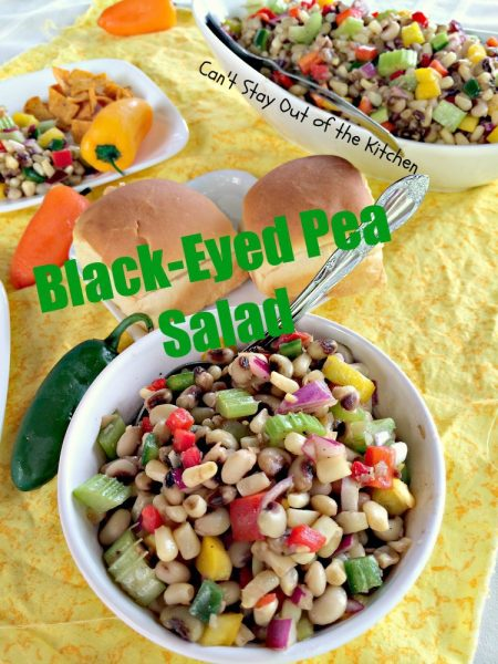 Black-Eyed Pea Salad Dip | Can't Stay Out of the Kitchen