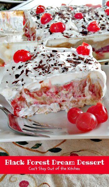Black Forest Dream Dessert - IMG_5900