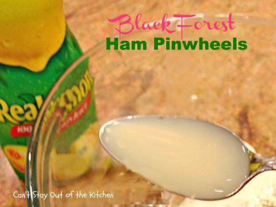 Black Forest Ham Pinwheels - IMG_3270