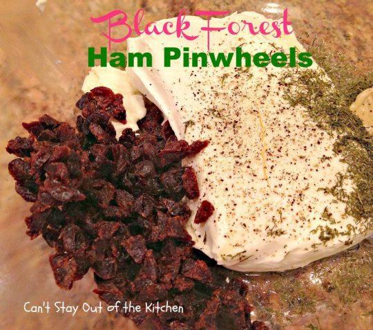 Black Forest Ham Pinwheels - IMG_3274